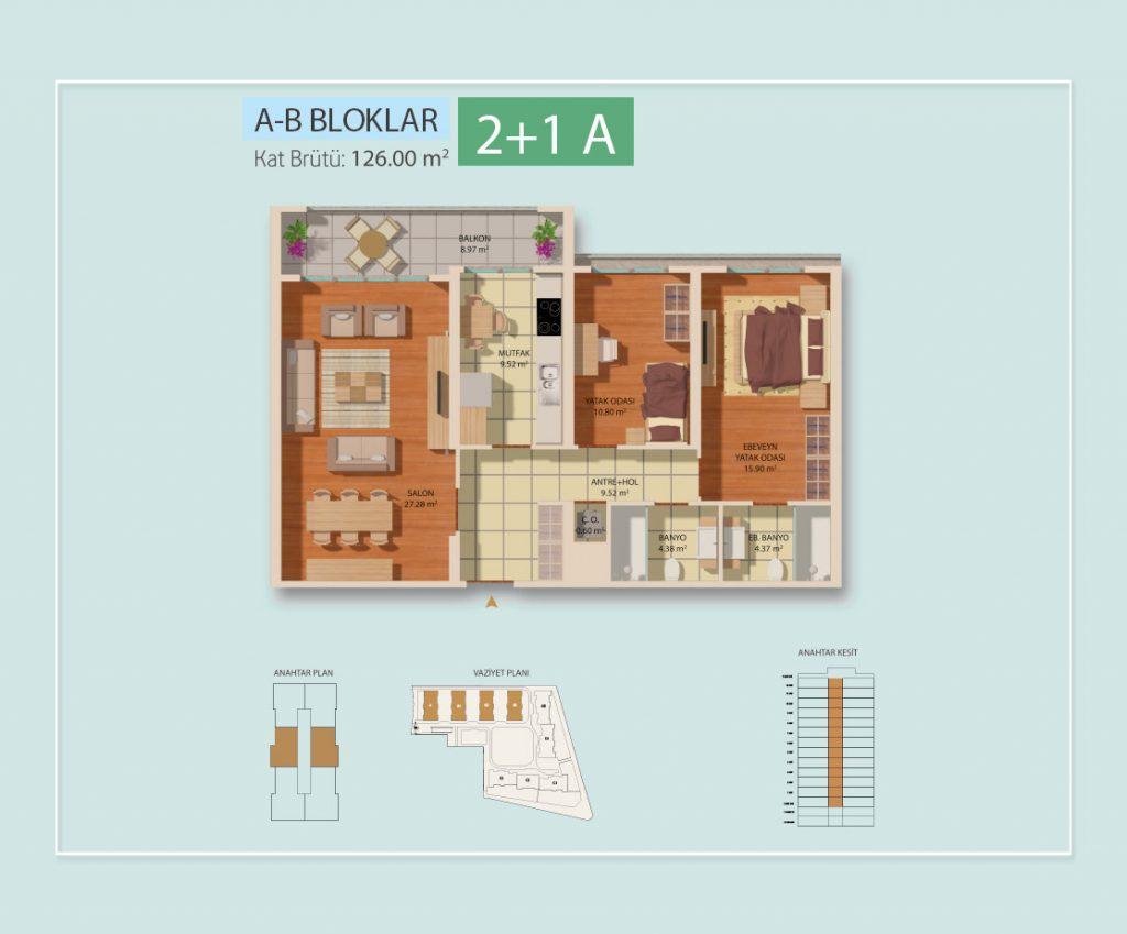 MarmaraEvleri 4 Kat Plani 21