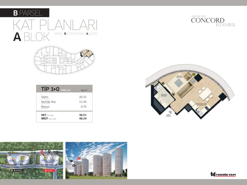 Concord Istanbul 10 Daire