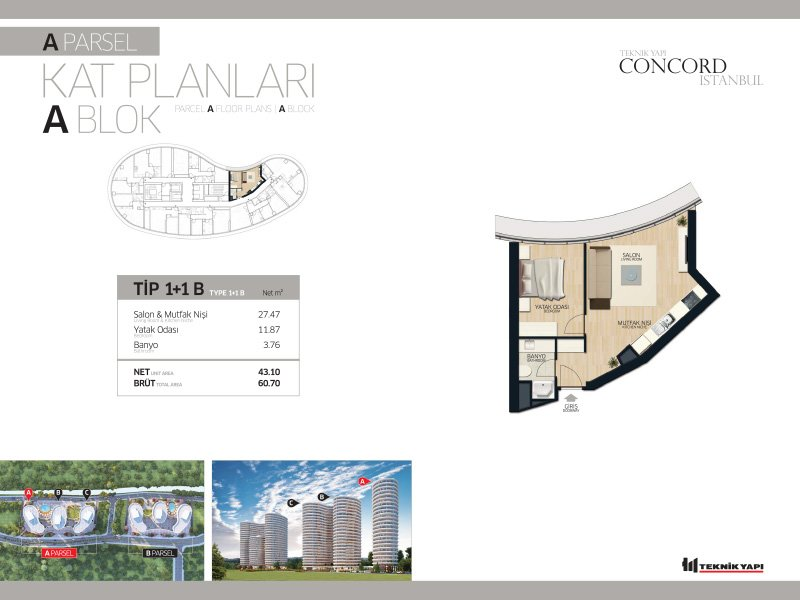 Concord Istanbul 11 Daire