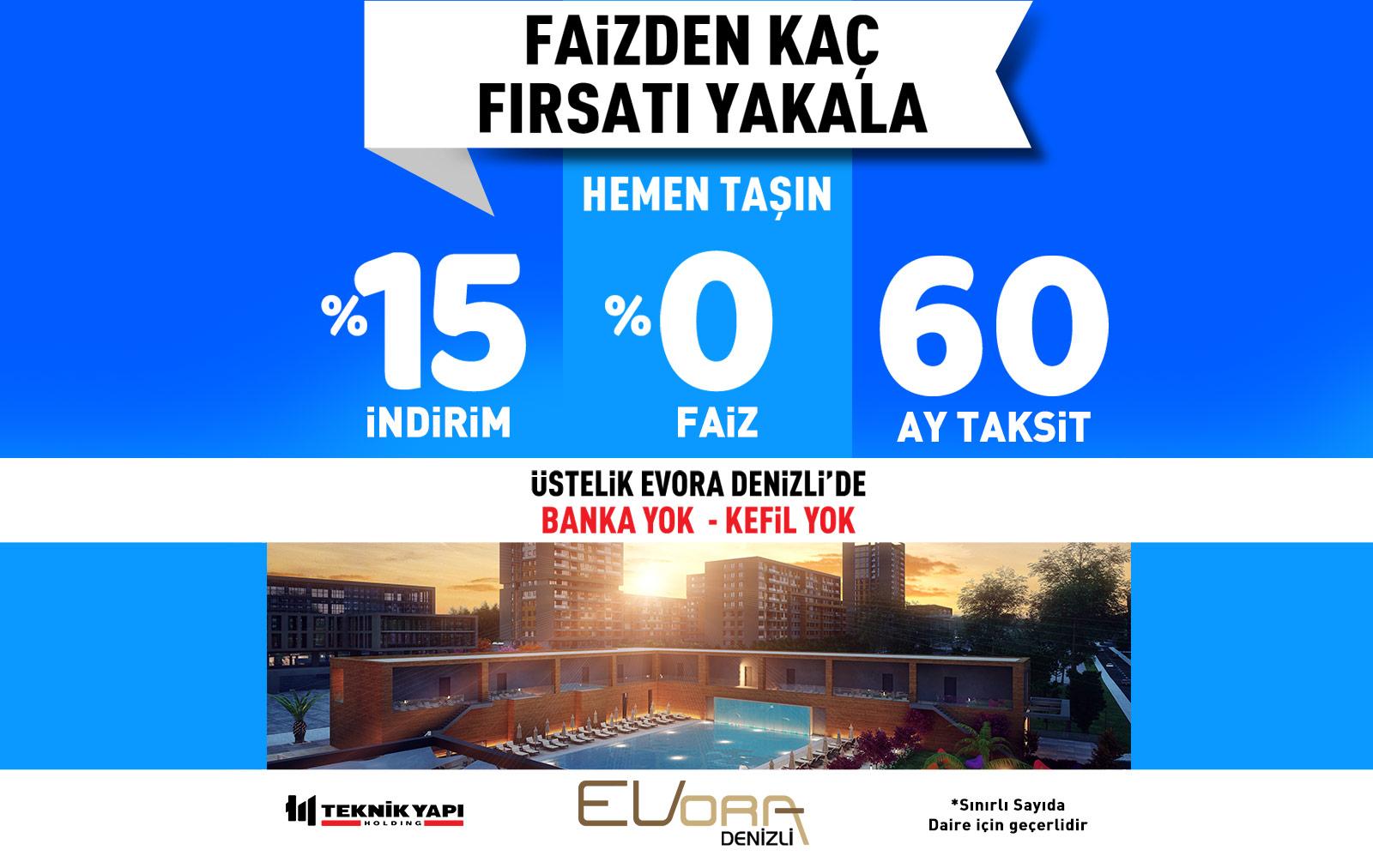 Evora Denizli Kampanya