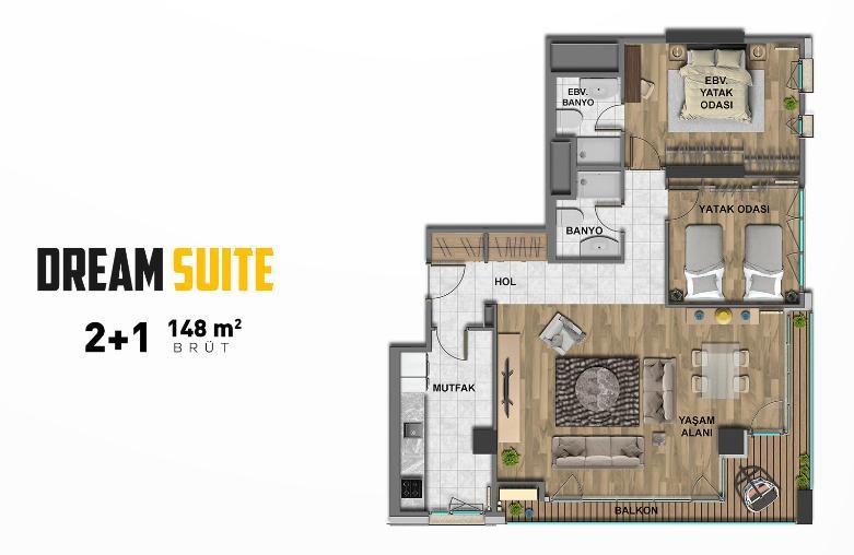 The Superior Suites 21 Dream Suite