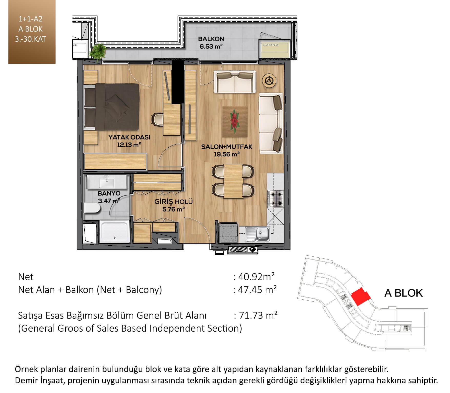 Demir Life Luxury Kat Plani 11