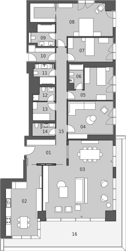 Pruva 34 Kat Plani 51