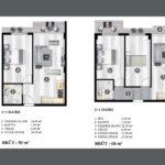 Normpol City 11 ve 21 Kat Plani